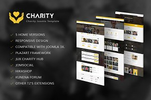 Charity - Nonprofit Joomla Template