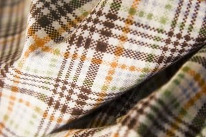 Plaid Folded Fabric 1 (Photo)
