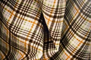 Plaid Folded Fabric 4 (Photo)