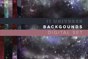 11 Galaxy Universe Backgrounds