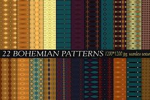 22 BOHEMIAN PATTERNS