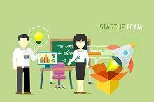 Startup Team People Group
