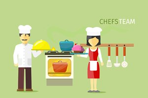 Chefs Team People Group