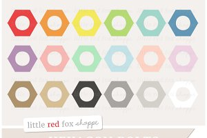 Hexagon Bolt Clipart