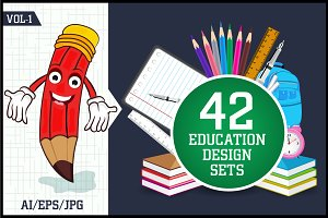Education Design Set Vol - 1
