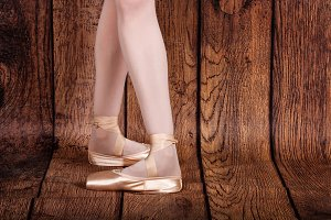 Fourth position in classical ballet