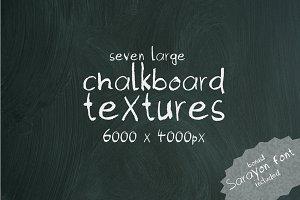 7 chalkboard textures