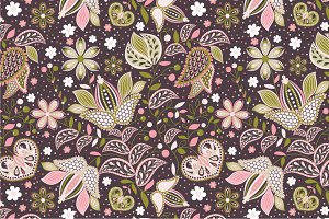 "Seamless pattern ""Flowers"""