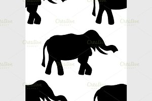 background elephant.