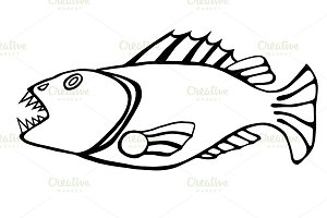 toothy fish