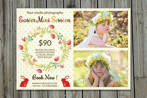 Easter Mini Session Template-V229