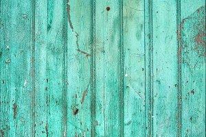 Turqouise wooden texture