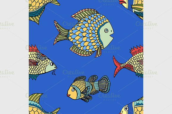 fish pattern - Graphics