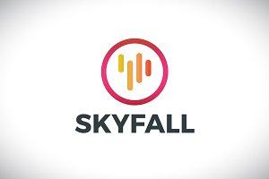 [68% off] Skyfall - Logo Design