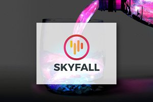 [68% off] Skyfall - Logo Design