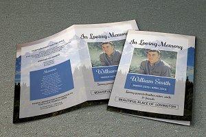 Funeral Program Template-V428