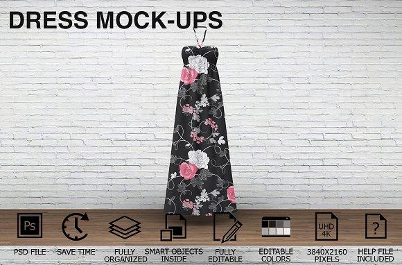 Download Dress Mockups - Clothing Mockups v4