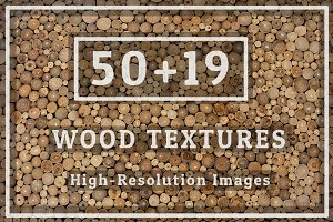 50 Wood Texture Set 04 & 19pic BONUS