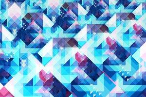 Receding Triangles Pattern