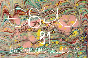 81 EBRU background bundle