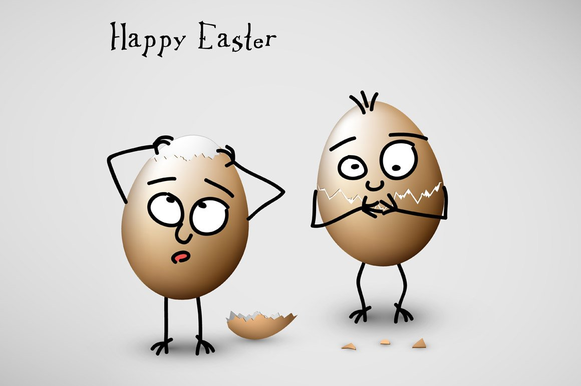 Happy Easter Funny Card