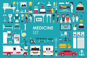 Medical Flat Objects minicollection