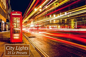 25 City Lights Lr Presets