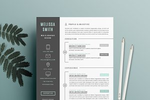 Resume Template 4 page pack | Iconic
