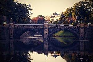 Stone Bridge in Tokyo
