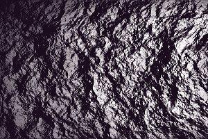 Set of 5 Metallic Rock Textures