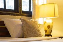 Bedroom bed lamps