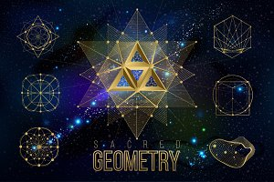 Vector geometry shape 17