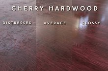 Cherry Hardwood (Tileable) by Christopher Barischoff in Wood