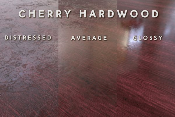 3D Man-Made: Fiat Lux - Cherry Hardwood (Tileable)