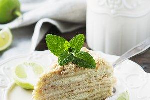 Russian cake medovik