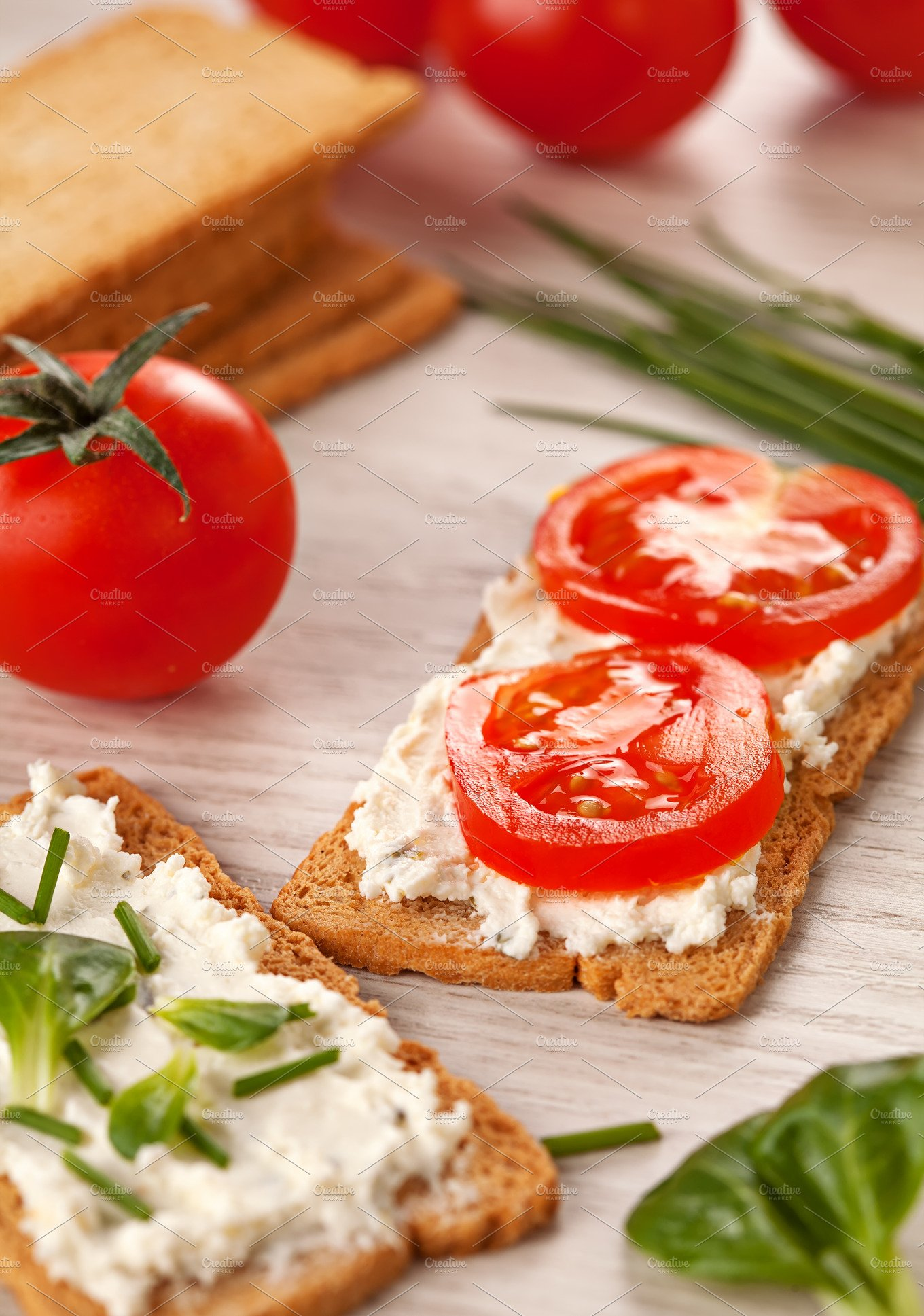 Tasty canapes breakfast meal food drink photos for Breakfast canape