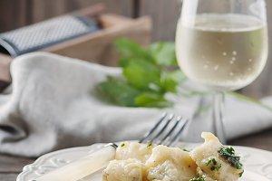 Italian codfish with onion