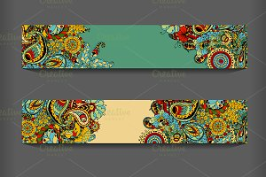 ethnic pattern cards