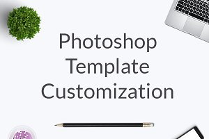 Photoshop Template Customization