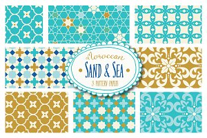 Moroccan Sand & Sea Patterns