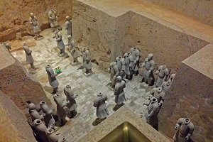 Terracotta Warriors of China