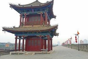 Old City Wall, Xian, China