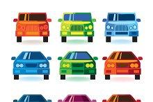 Cars & Trucks mini Set