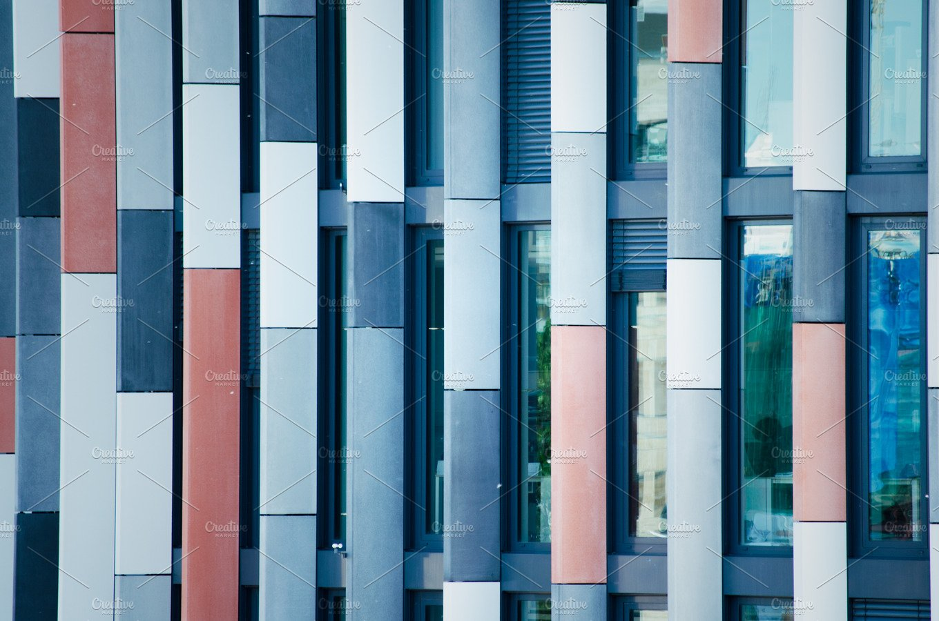 Modern Facade Architecture Photos Creative Market