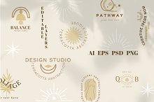 50 ABSTRACTION  Logo Templates by  in Templates