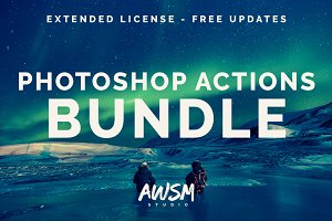 [SALE] Photoshop Actions Bundle