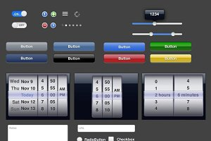 Illustrator iPad UI Templates
