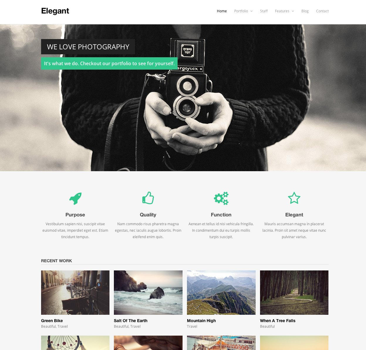 Elegant WordPress Theme ~ WordPress Themes ~ Creative Market