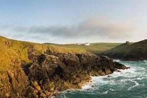 Panorama of Cornwall Coastline