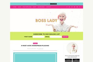 Boss Lady WordPress Theme